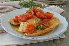 Petto+di+pollo+ai+pomodorini