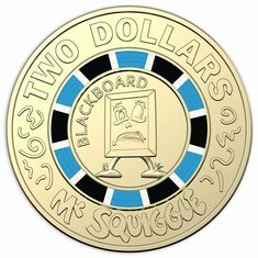 1c UNC Coin Australia 2019 Mr Squiggle /& Friends One 1 Cent