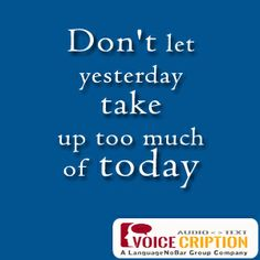 #Voicecription #quote
