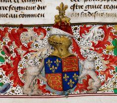 Arms of England