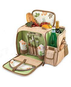 Picnic Time Malibu Botanica Picnic Basket - Outdoor Dining & Picnic - Dining & Entertaining - Macy's