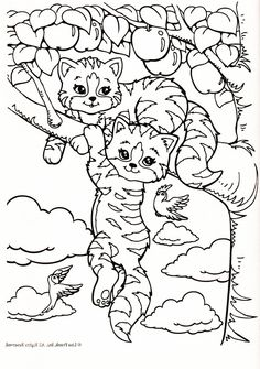 Lisa Frank Coloring Page