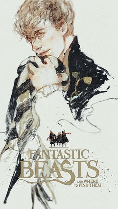 Newt Scamander - Fantastic Beasts and Where to Find Them by rdjlock.tumblr.com #harrypotter #fanart