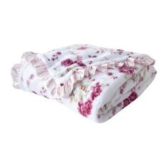 Simply Shabby Chic Printed Floral Blanket - Full/ Queen