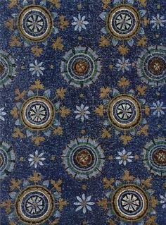 Mausoleum of Galla Placidia, Empress of the Western Roman Empire (mosaic detail) First half of 5th Century. Ravenna School. Italo-Byzantine Workshop