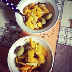 Mix fruit salad.. Mango, pineapple, olive and tamarind