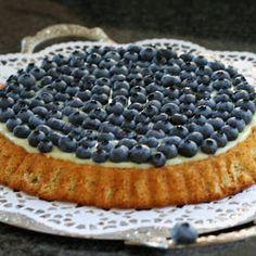 Pâtisserie Nadine: Schneller Blaubeerkuchen mit Mandelbiskuit
