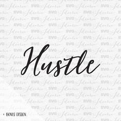 Boss Lady Hustle Svg Sayings svg quotes svg files by SVGbyIdearia