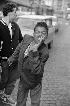 Les gangs stylés de la Villette des 80′s en photos