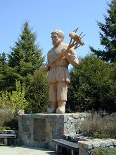 (Fictional) St. Urho from Menahga, MN - chased the locusts out of Finland