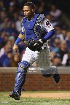 Willson Contreras,CHC//Oct 29,2016 World Series Game 4 v CLE