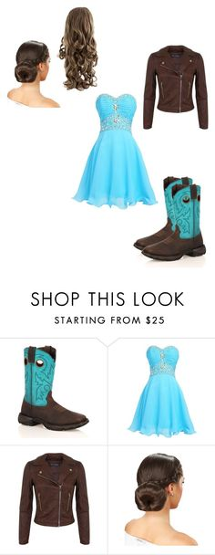 Going to a Wedding!! by gigglynoelle6 on Polyvore featuring beauty, Miss Selfridge and Durango