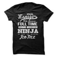 Visual Manager T Shirt, Hoodie, Sweatshirt