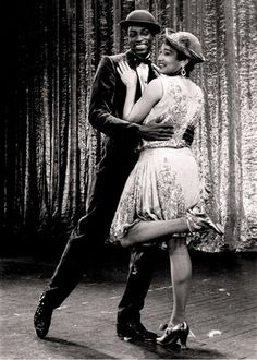Ivory and Dianne from the Gregory Hines Collection