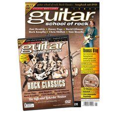guitar school of Rock Classics - Songbook mit DVD, 9,90 €