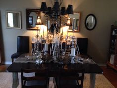 Dining with rustic and elegance