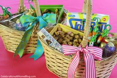 Kids Easter Basket Ideas with Cost Plus World Market - Celebrations at Home >>  #WorldMarket Easter Style Hunt Sweepstakes. Enter to win a 1K World Market gift card.