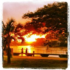 Sunset @Chevron Island, Gold Coast QLD