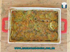 As delicias do Dudu: Assado de abobrinha (10 meses)