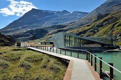Trollstigen Visitor Centre by Reiulf Ramstad Architects, Norway
