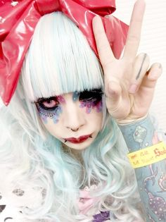 Backstage photo of METO of MEJIBRAY at the live event「little HEARTS. PRESENTS Sadie 10th Anniversary THE UNITED KILLERS -DECADE-」held at Sendai darwin on Feb. 01st, 2015.