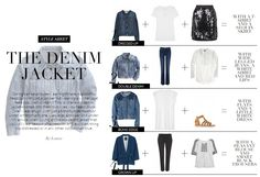 The Denim Jacket Style Sheet | Wardrobe ICONS Issue 24