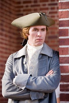 Stephen Dillane (as Thomas Jefferson) -- See him in 'Firelight!!'