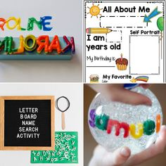 All About Me Lesson Plans