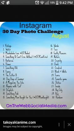 Post this to see if anyone will do it and if they like this challenge they will like the photos 30 Days Photo Challenge, More Instagram Followers, Word 2, Challenges, Photos, Pictures