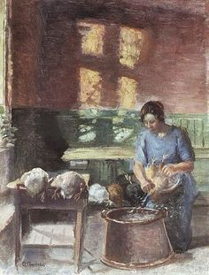It's About Time: Danish Anna Ancher 1859-1935 paints herself & the world around her