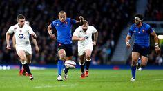 Gaël Fickou (XV de France) face à l'Angleterre - Mars 2015