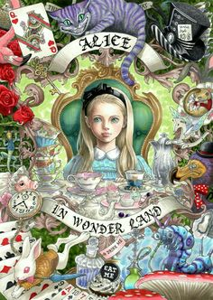 "...this is what the ""alice"" corner of my brain must look like..."