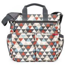 Diaper bag that has tons of pockets but not too bulky