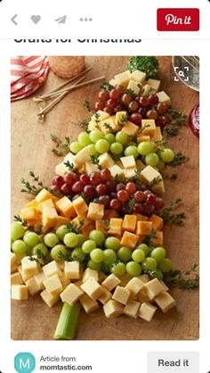 22 Recipes for Appetizers and Party Food, So Many Yummy Things! It's Written on the Wall: Holiday (Christmas) Appetizers-Party Food So Many Yummy Things! Christmas Snacks, Xmas Food, Christmas Brunch, Christmas Cooking, Holiday Treats, Holiday Recipes, Christmas Holidays, Christmas Cheese, Holiday Parties