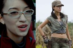 The Walking Dead Actors: Other Roles Before They Were Famorous. Angela from Twilight is Badass Rosita in TWD
