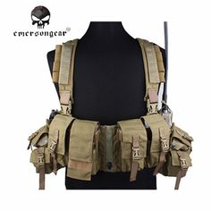 Cheap chest rig emerson, Buy Quality vest vest directly from China lbt tactical Suppliers: EMERSON LBT Tactical Chest Rig Vest w/ Airsoft Painball & Military Army Combat Gear USA Cordura Kakhi Tactical Chest Rigs, Tactical Vest, Vest Outfits, Sport Outfits, Molle Vest, Hunting Vest, Airsoft Gear, Combat Gear, Military Army