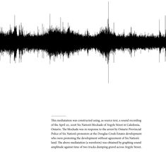 """""""Soundscape as Landscape #1: Peaceful, Unified, and Unarmed"""" by Shane Rhodes 