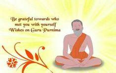 Be Grateful Towards. - Tap to see more of the best guru purnima wishes! Guru Purnima Wishes, Happy Guru Purnima, Holiday Wallpaper, Gratitude, Grateful, Quotes, Krishna, Wallpapers, Yoga