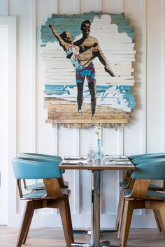 House of Turquoise: Chair 5 Beach Bistro and Bar | Digs Design Company