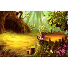 Fantasy Landscape, Landscape Art, Fantasy Art, Leaf Background, Paper Background, Jungle Art, Episode Backgrounds, Themes Photo, Forest Art