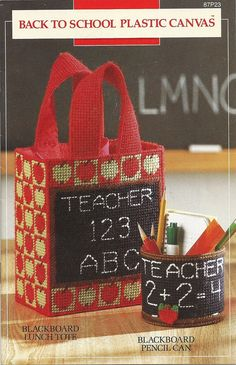 Back To School Plastic Canvas Patterns Annie's by PatternMania3