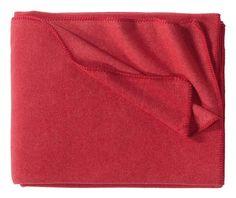 Tony fleece blankets, red www.artedona.com