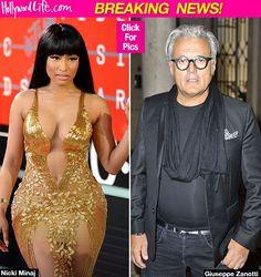 Nicki Minaj Threatens Giuseppe Zanotti: Let's Fight Like Chris Brown & Soulja Boy