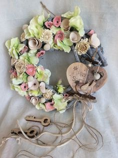 Topiary, Flower Crafts, Art World, Diy And Crafts, Floral Design, Floral Wreath, Easter, Wreaths, Spring