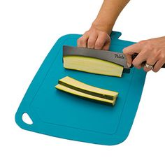 The flexible, non-slip, and dishwasher-safe Antibacterial Cutting Mat is made from a naturally hygienic and BPA-free, plant-based material.* After washing, roll up the mat and microwave it for 1 minute to kill bacteria. Countertop Dishwasher, Black Dishwasher, Stainless Steel Dishwasher, Kitchen On A Budget, Kitchen Stuff, Kitchen Tools, Kitchen Gadgets, Chicken Wing Marinade