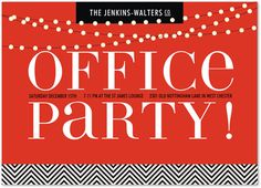 Hot Holiday Party Invites Wedding Stationery Wednesday Party - Party invitation template: office christmas party invite template