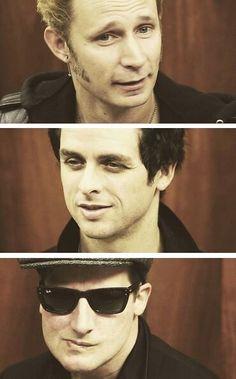 Mike Dirnt + Billie Joe + Tré Cool = Green Day
