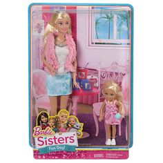 """Barbie Sisters Barbie and Chelsea Doll 2-Pack - Mattel - Toys """"R"""" Us"""
