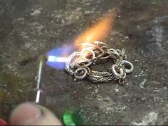 How to Recycle Silver – molten ring project – YouTube