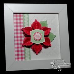 Mosaic Madness Flower by stampercamper - Cards and Paper Crafts at Splitcoaststampers